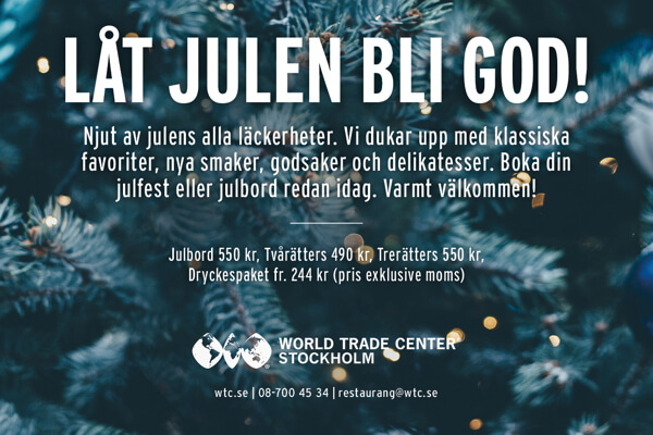 World Trade Center Julbord & Julfest