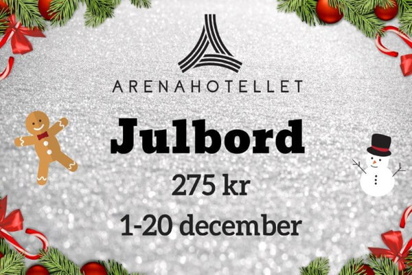 Arenahotellets Julbord