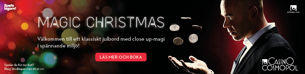 Casino Cosmopol Magic Christmas Göteborg