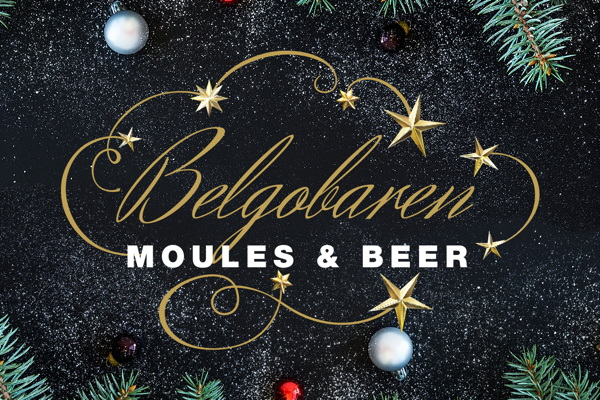 Belgobaren Moules and Beers Julbord