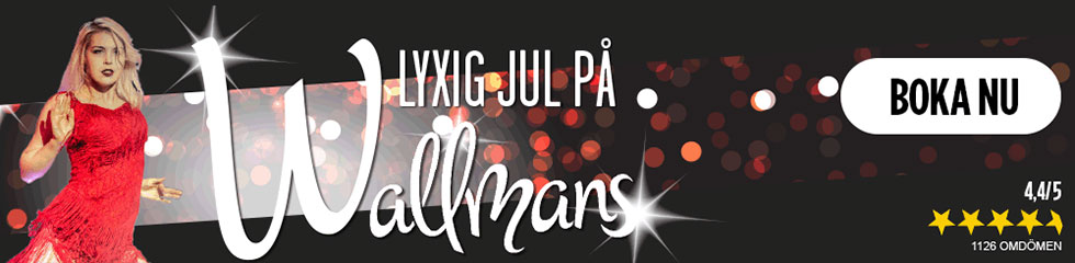 Julshow på Wallmans