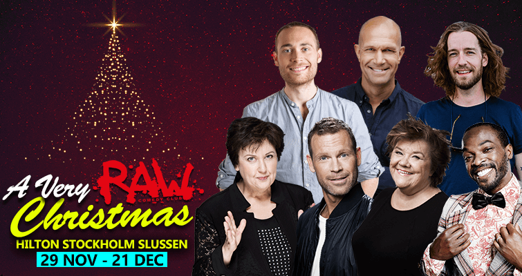 Raw Christmas Show & Julbord