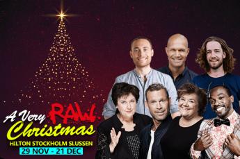 Smakfull blandning i sockersot julshow